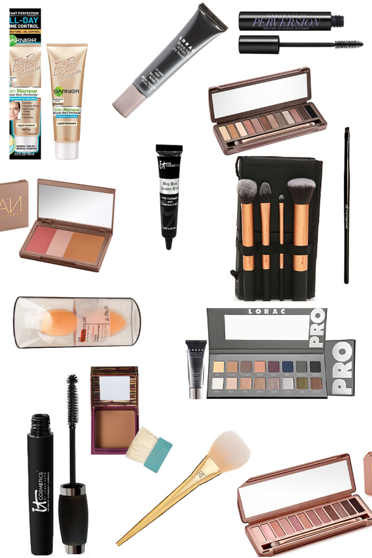 makeup guide, nyx, it cosmetics, urban decay, benefit cosmetics
