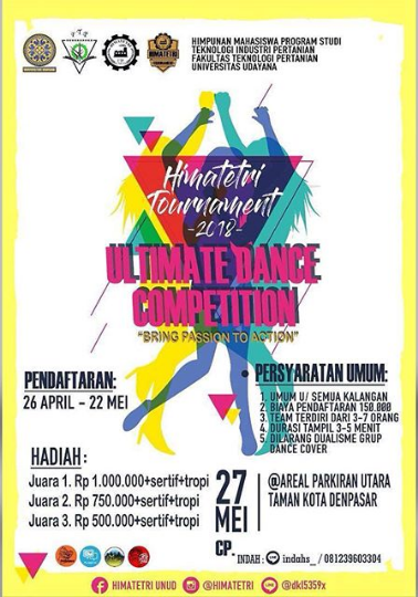 Lomba Ultimate Dance Competition Univ. Udayana 2018