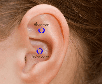Point on the ear shell that is need to be pressed is marked as ''shenmen'' or translated ''gates of heaven''. The emotions that come with this pressing acupressure point according to Chinese alternative medicine are measurable with a sense of paradise.