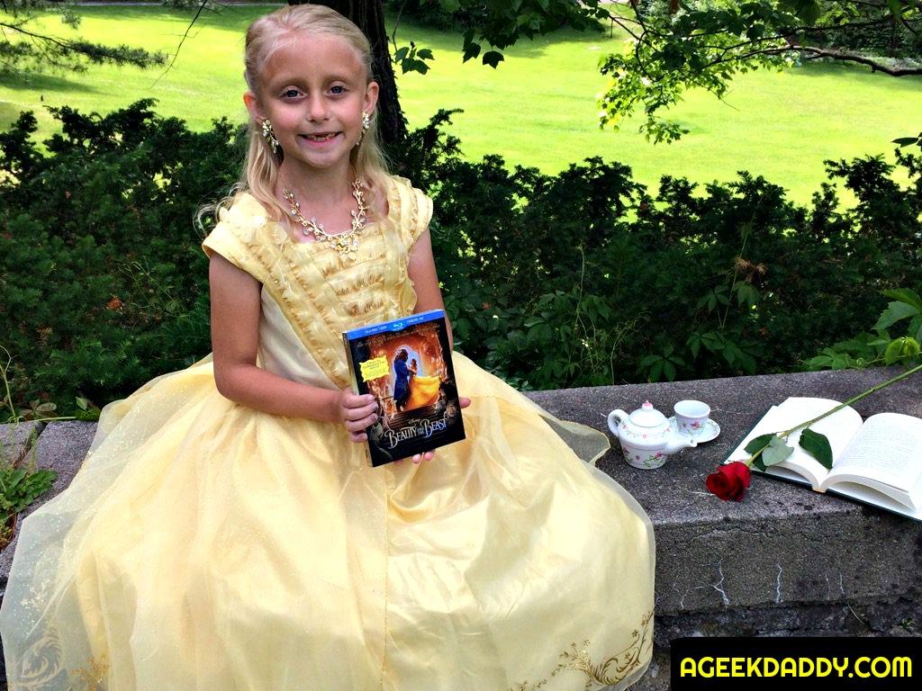 Belle Disney Past Now