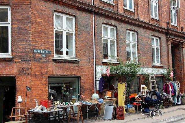 Copenhagen, Denmark, Second Hand shopping, vintage store