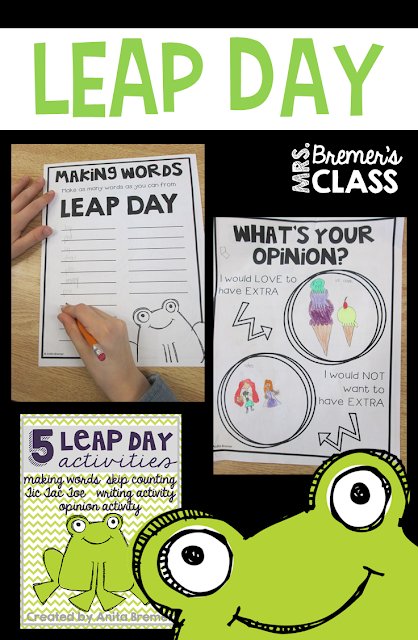 FUN Leap Day activities for the classroom!