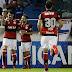 Vizeu marca dois, César defende pênalti e Flamengo está na final da Sul-Americana