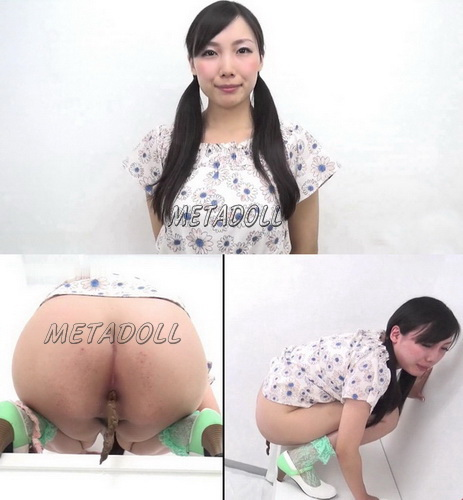 [FF-063] Appetizing ass shitting spectacular turd. Pooping girls filmed on cam