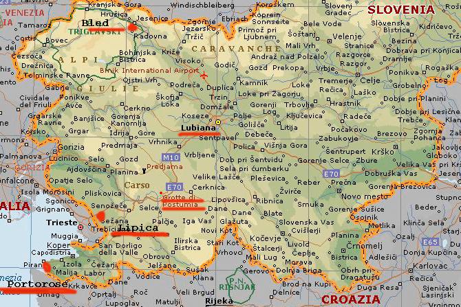 Briciole di vita gita in slovenia prima parte codroipo arrivo a lubiana lago di bled - Agenzia immobiliare slovenia ...