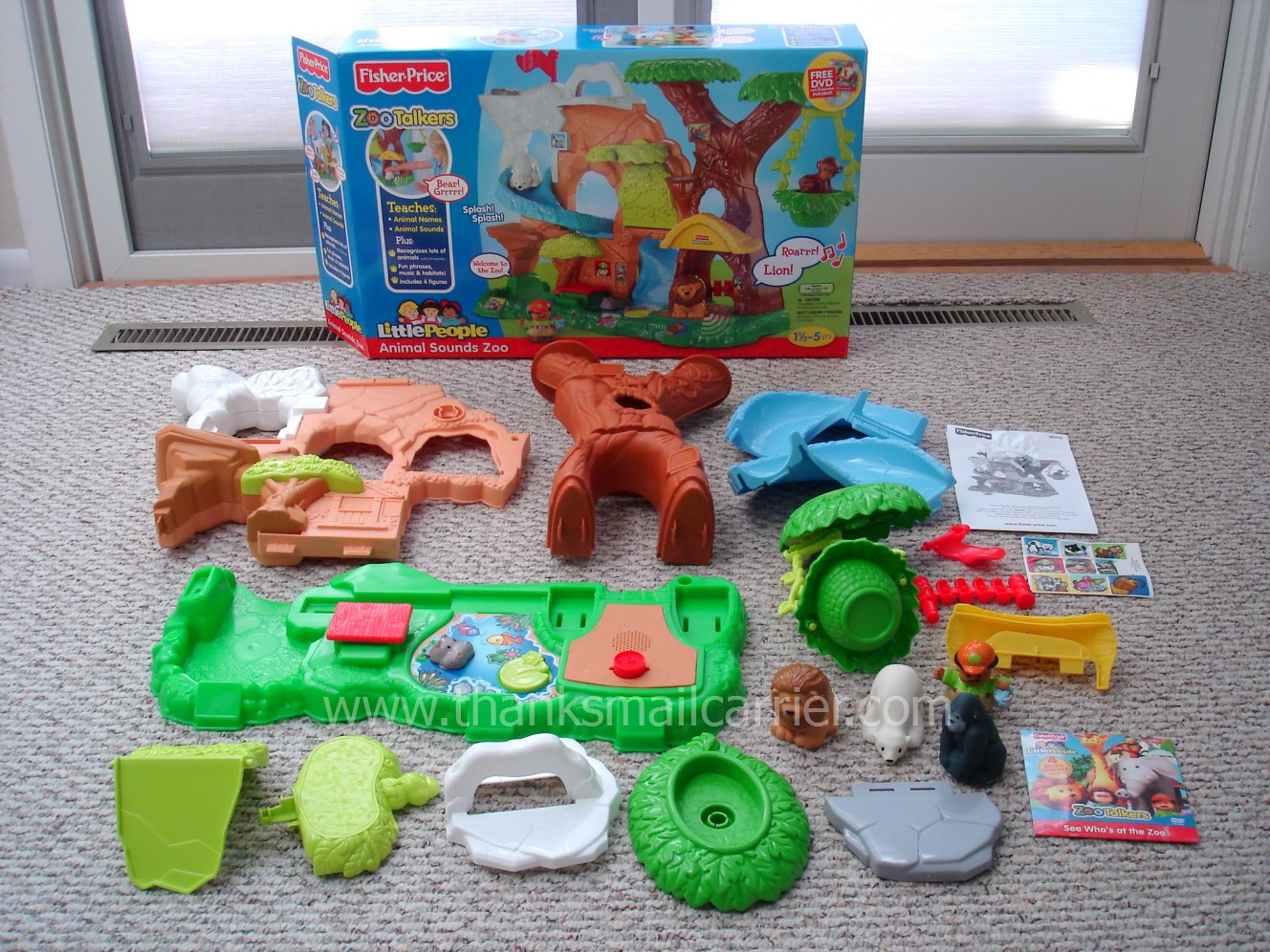 Thanks Mail Carrier Fisher Price Little People Zoo Talkers Animal Sounds Zoo Review