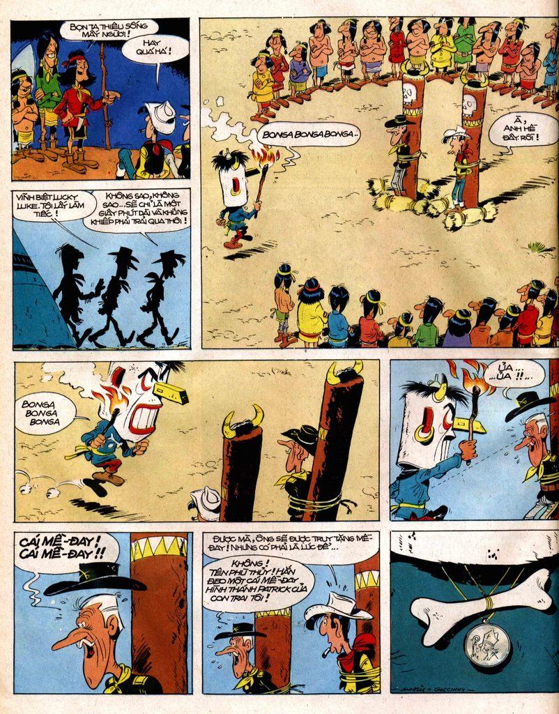 Lucky Luke tap 12 - khe vuc apache trang 40
