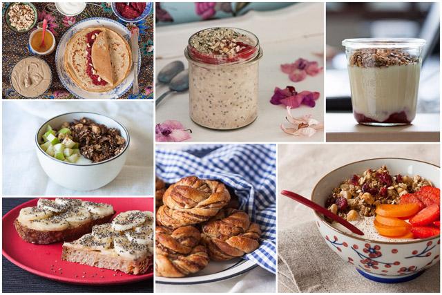 Zašto je doručak najvažniji obrok i predlozi kako da uvijek imate zdrav obrok pri ruci - kolaž