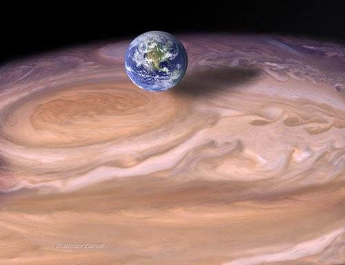 jupiter planete rayon