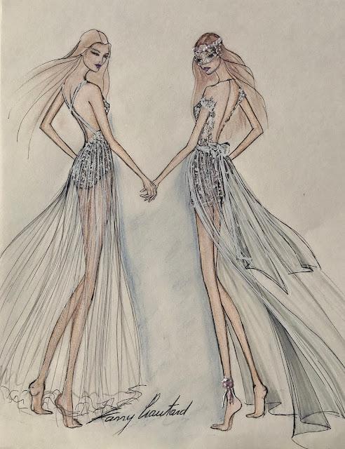 FANNY LIAUTARD créateur de robe de mariée Paris