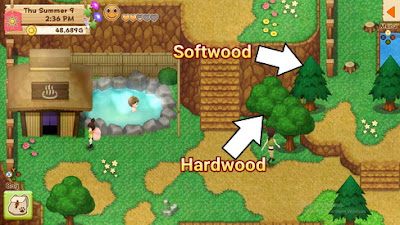 How to Get Hardwood Lumber Harvest Moon: Light of Hope