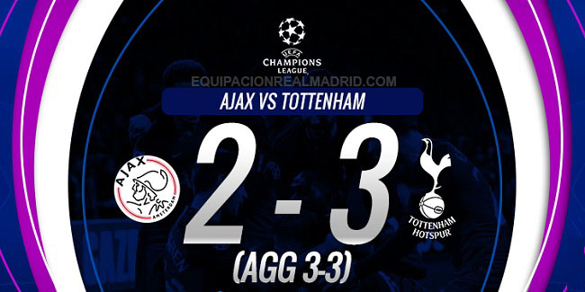 video cuplikan gol liga champions ajax vs tottenham hotspur 9 mei 2019