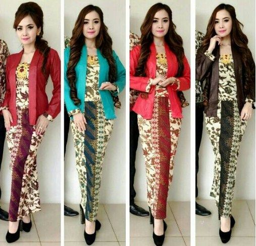 Model Batik Atasan Dan Bawahan Model Batik 2019
