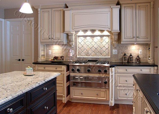 Painting Oak Kitchen Cabinets Antique White Home