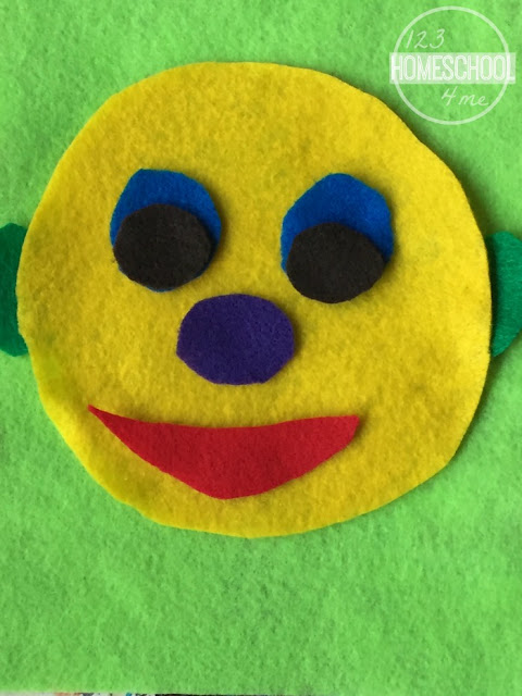 face craft for kids