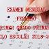 """EXAMEN MENSUAL """"FEBRERO"""" 1° PRIMARIA CICLO ESCOLAR 2018-2019."""