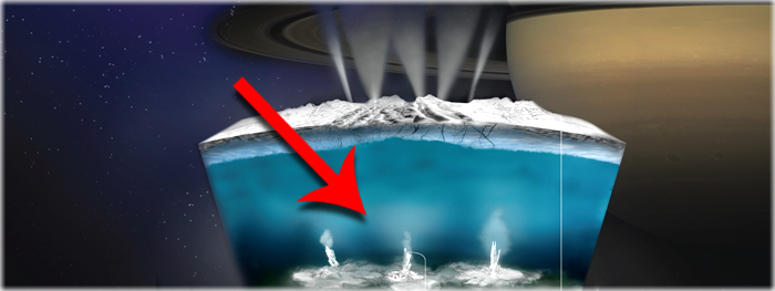 atividade hidrotermal detectada em encelado