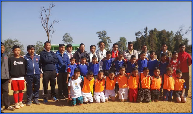 Mungpoo winter football coaching camp