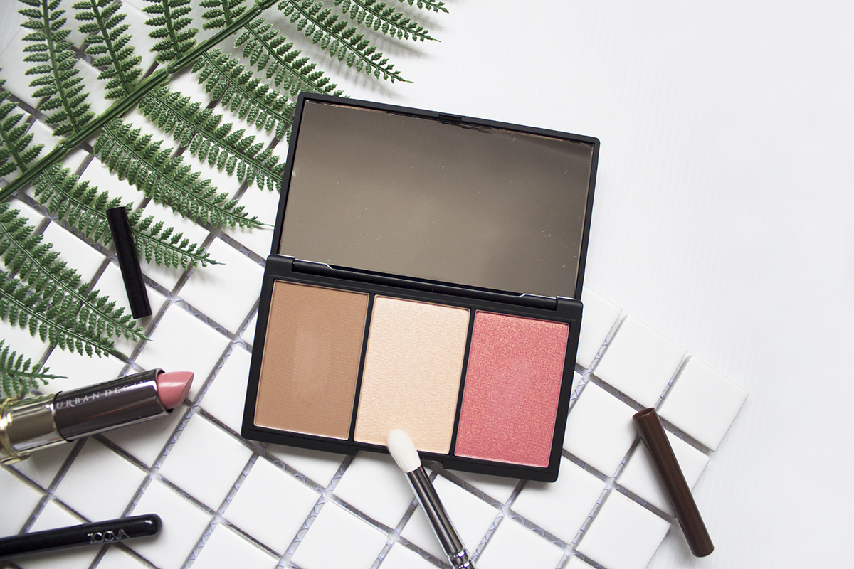 Sleek MakeUP - Face Form Contouring & Blush Palette
