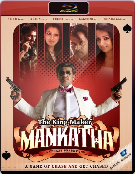 Mankatha 2011 Hindi Dubbed BRRip 480p 400mb