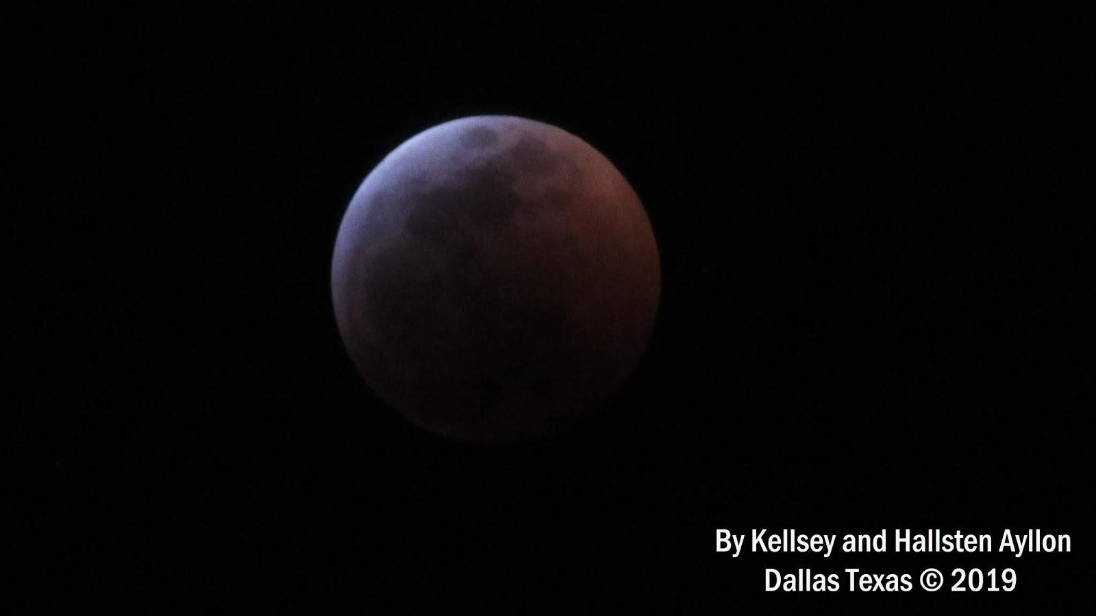 blood moon january 2019 dallas tx - photo #21