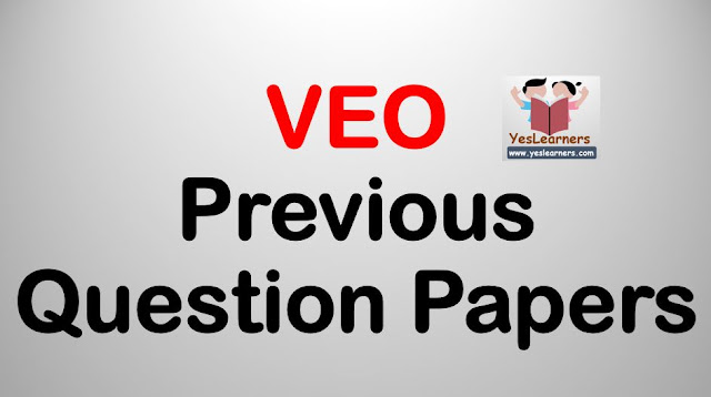 VEO - Previous Question Papera