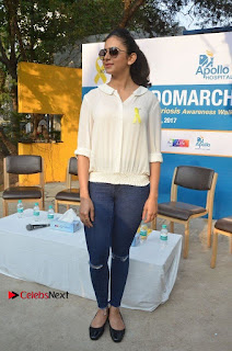 Actress Rakul Preet Singh at Endometriosis Awareness Walk at Apollo Cradle  0110.jpg