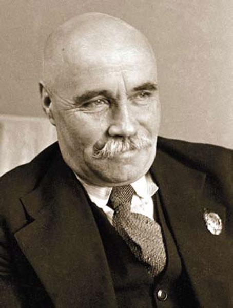 Алексе́й Си́лыч Но́виков-Прибо́й / настоящее имя – Алексе́й Сила́нтьевич Но́виков