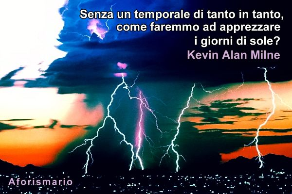 Super Aforismario®: Temporale - Aforismi, frasi e proverbi KP74