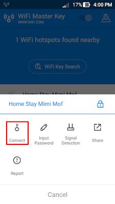 Connect Dengan Jaringan Wifi Yang Akan di Hack