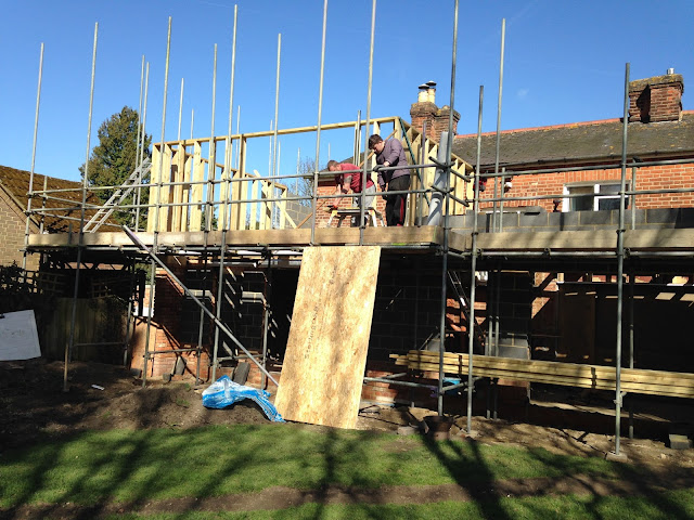 extension building works