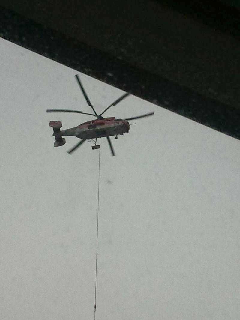 Hubschraubereinsatz Lied