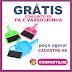 Brindes Grátis - Kit contendo uma Vassourinha e Pá