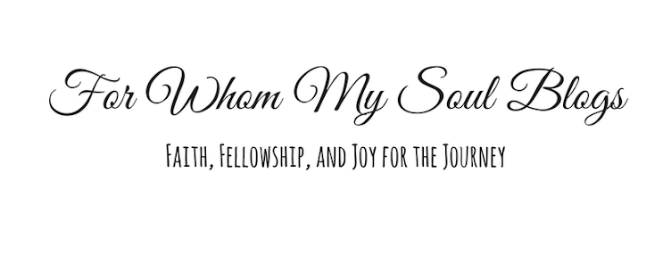 For Whom My Soul Blogs