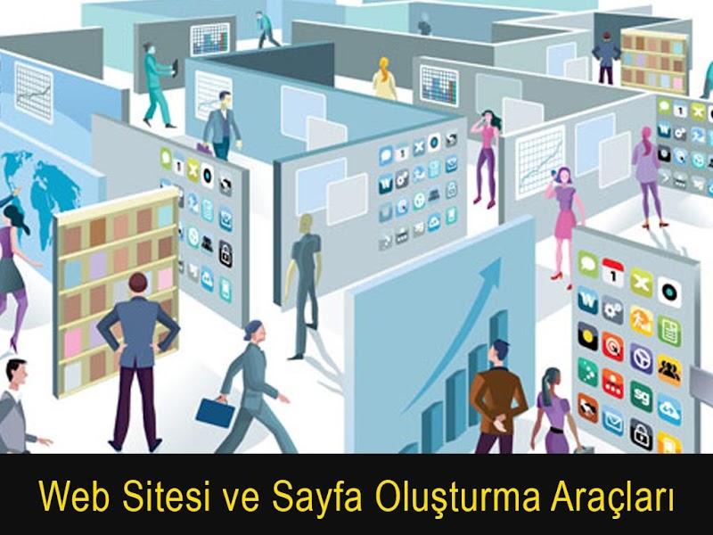 Web Sitesi ve Sayfası Oluşturma Araçları