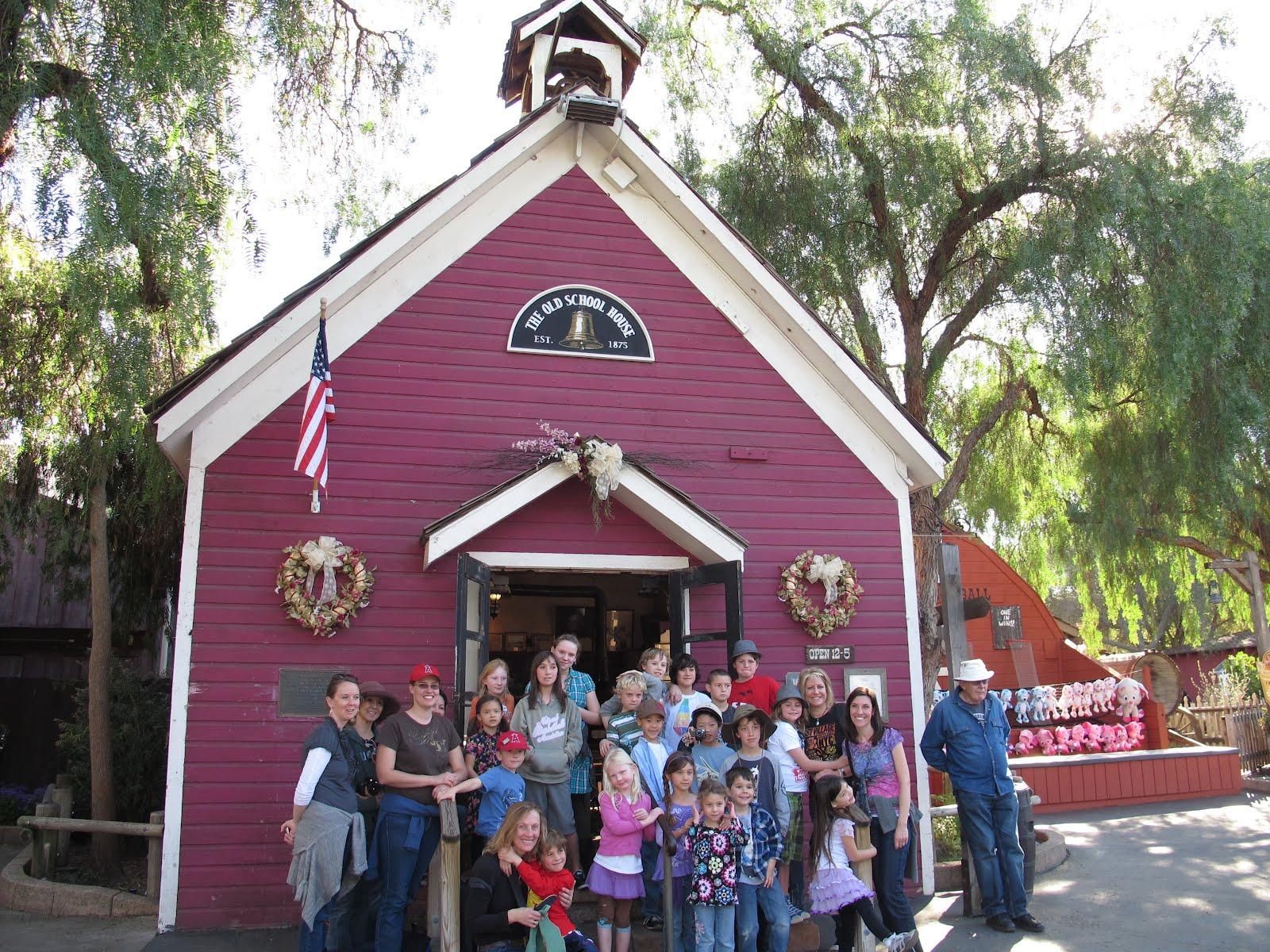 Jaffe Schoolhouse Knott S Berry Farm