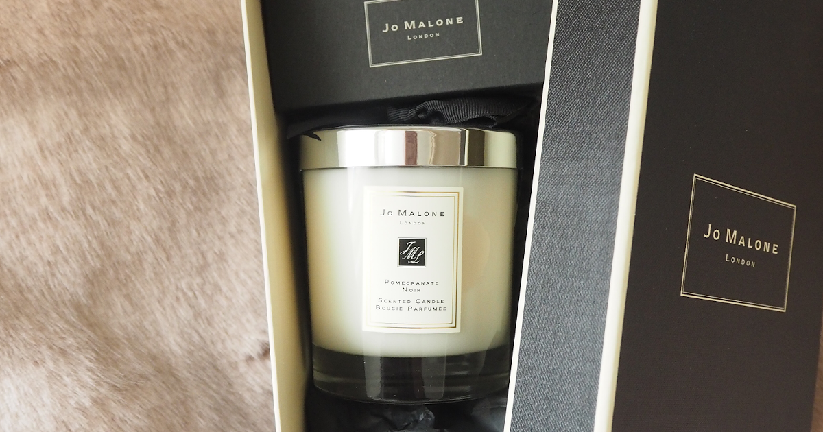 Review Jo Malone Pomegranate Noir Candle