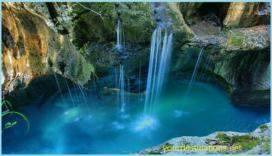 The Plitvice Waterfall