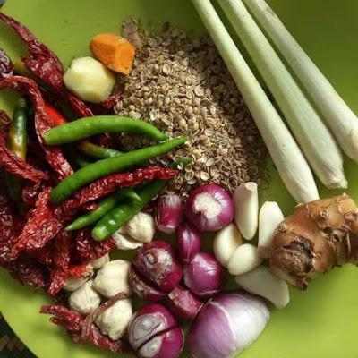 resepi rendang ayam kampong