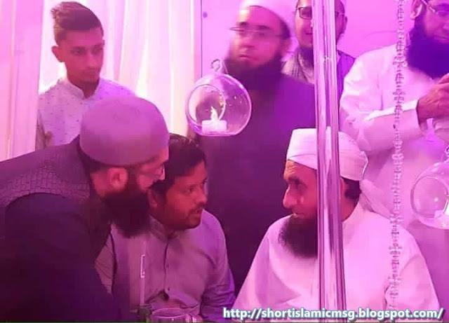 Junaid Jamshed tariq jameel sb k sath