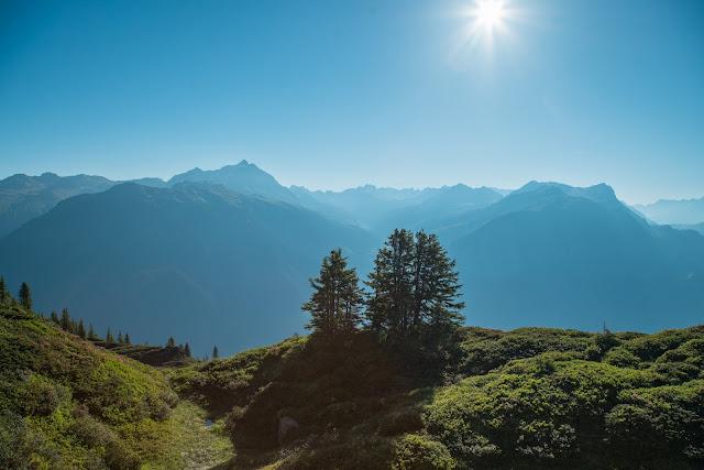Panoramaweg Gantakopf  Wandern im Montafon 05