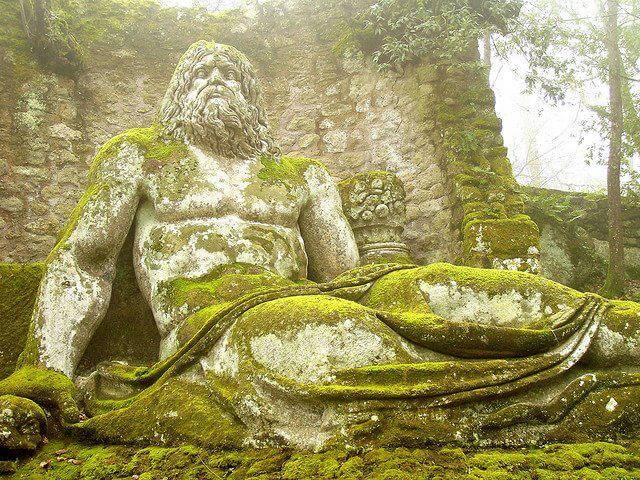 30 Of The World's Most Incredible Sculptures That Took Our Breath Away - Park of the monsters, Bomarzo Italy