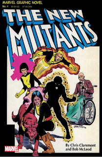 Marvel Graphic Novel #4: The New Mutants Cover