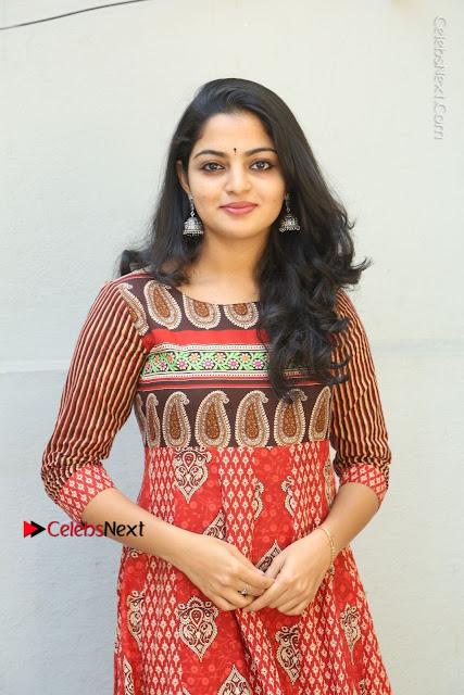 Telugu Actress Nikhila Vimal Latest Stills in Anarkali Dress  0002.JPG