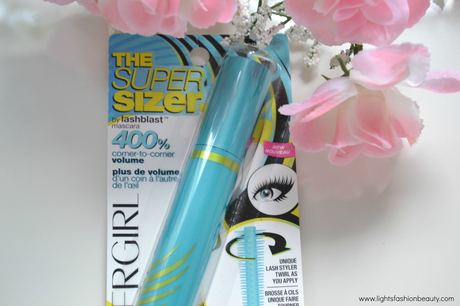 Covergirl The Super Sizer Mascara , new drugstore mascara, covergirl mascara, affordable mascaras, lightsfashionbeauty, canada beauty blog, montreal beauty blog