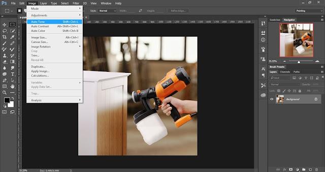 3. Fitur Perbaikan Otomatis & Instan di Photoshop