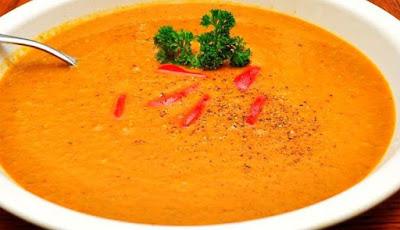 Reteta Supa crema de Morcovi cu crutoane