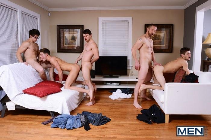 Orgia Gay com  Johnny Rapid