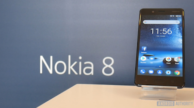 HMD Global Launches Nokia 8 Starts Android Oreo Experiment