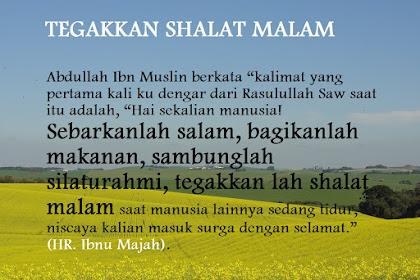 Jagalah 7 Sunnah Nabi Ini Jika Ingin Rezeki Berkah Setiap Hari